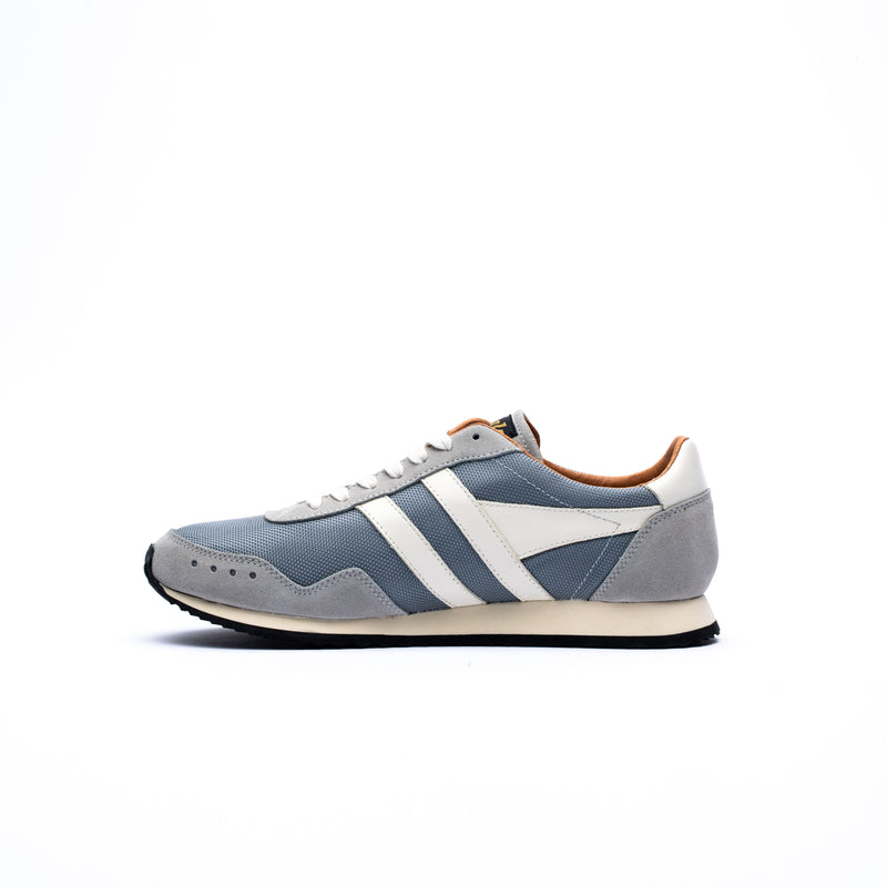Gola Track Mesh 317 Trainers Grey/Grey/Off White