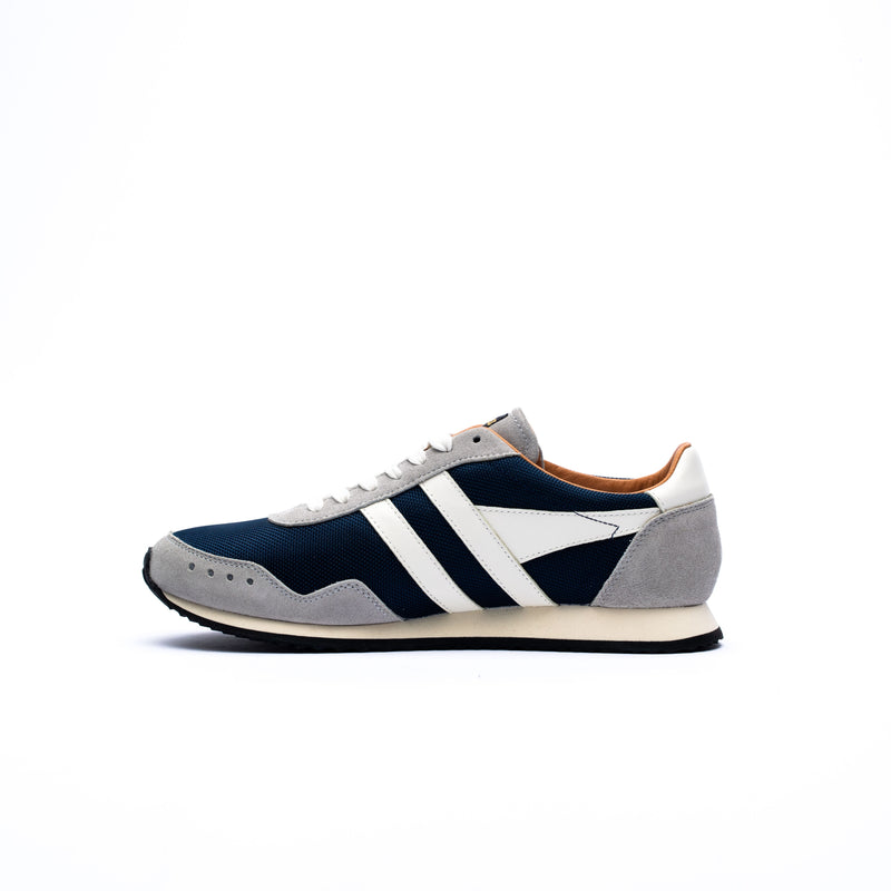 Gola Track Mesh 317 Trainers Navy/Grey/Off White