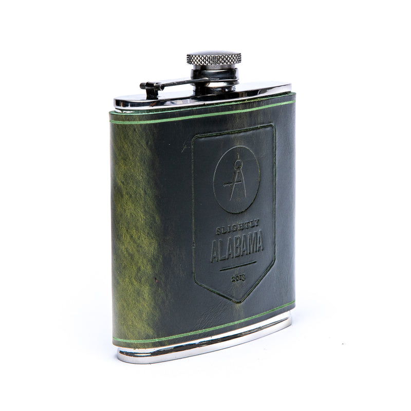 Hip Flask (Green)