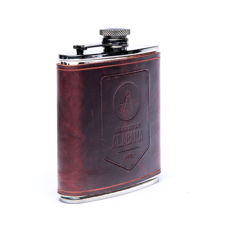 Hip Flask (Oxblood)