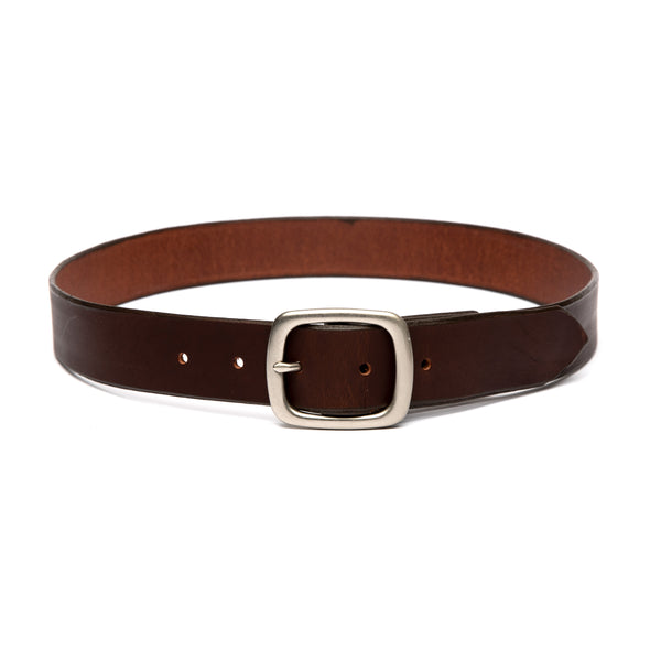 Standard Belt (Brown / Nickel)