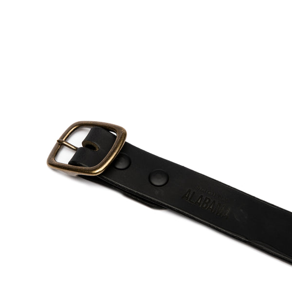 Standard Belt (Black / Brass)