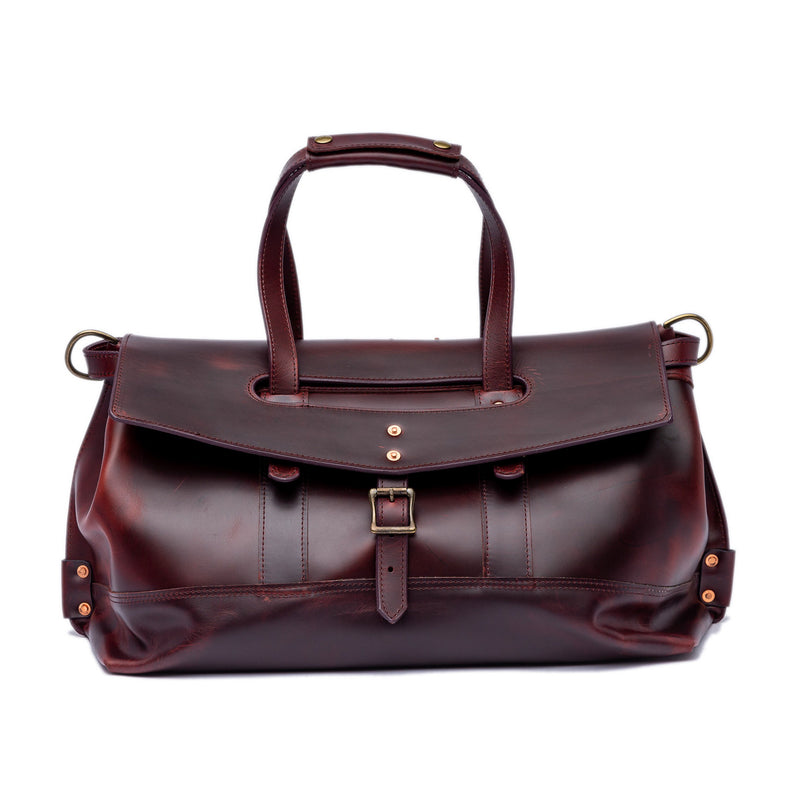 Field Bag Duffle II (Oxblood)
