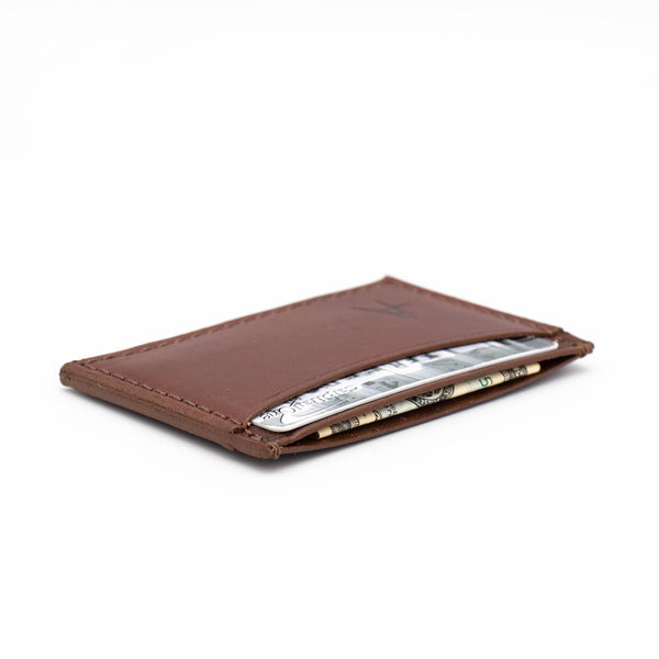 3-Pocket Card Case (Medium Brown Bridle)