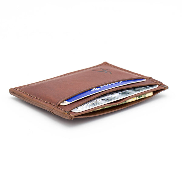 5-Pocket Card Case (Medium Brown Bridle)