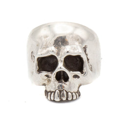 Hooligan Skull Ring (Silver)