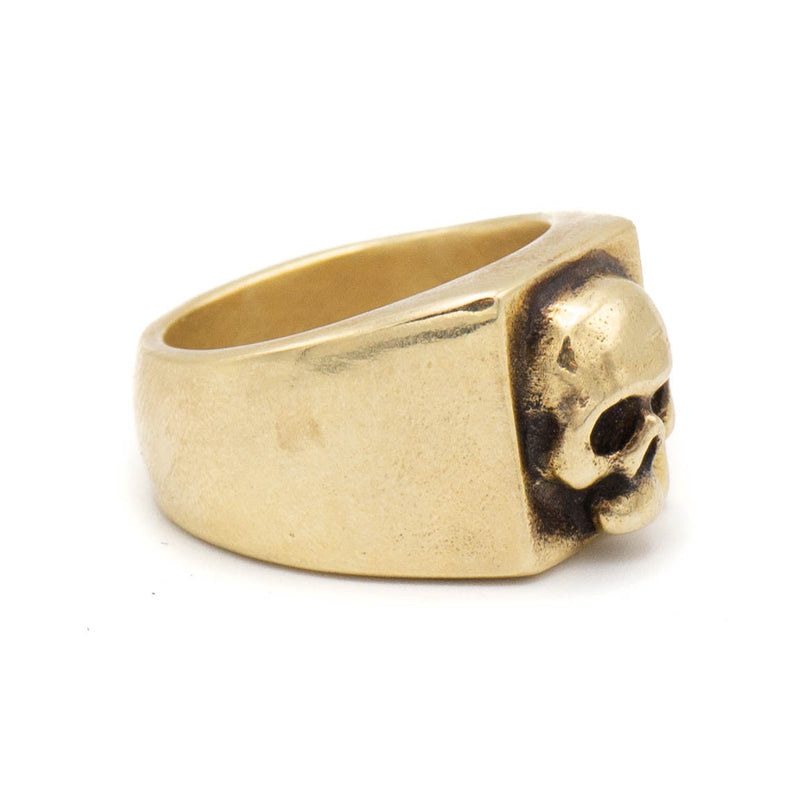 Memento Mori Ring (Brass)