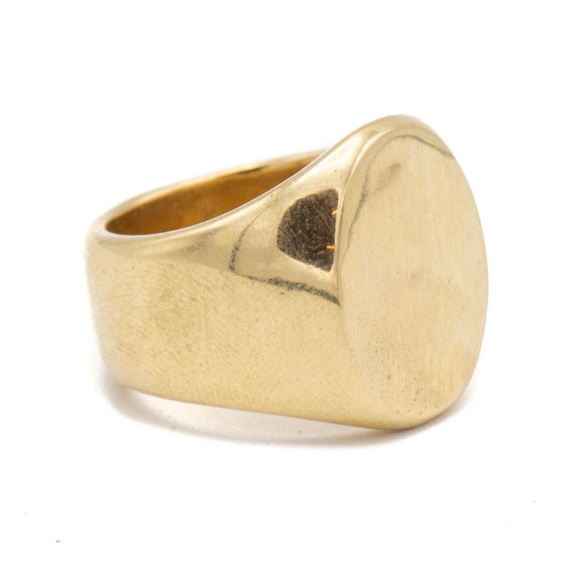 Maven Signet Ring (Brass)