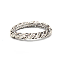 Twisted Ring (Sterling Silver)
