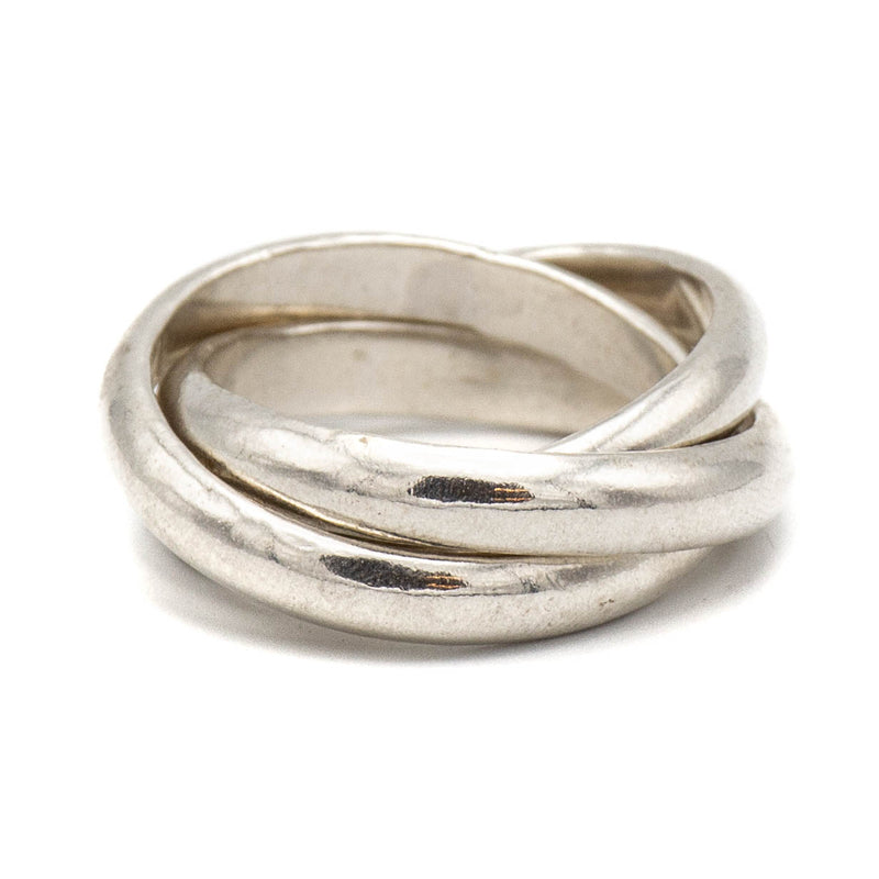 3-Rolling Ring (Sterling Silver)