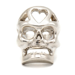 Love Skull Ring (Sterling Silver)