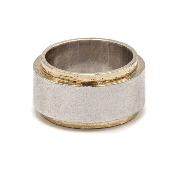 Ridged Ring (Sterling Silver)