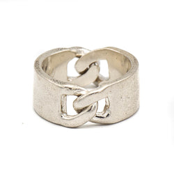 Double ID Ring (Sterling Silver)