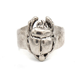 Scarab Ring (Sterling Silver)