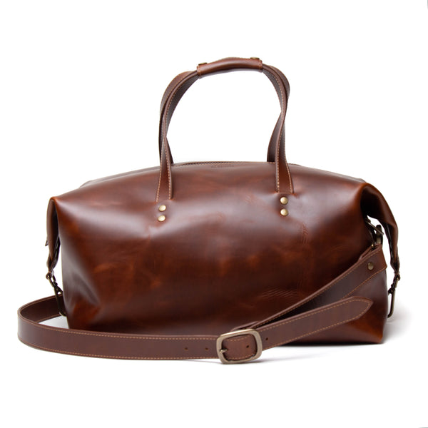 Jackson Highway Duffle (Antique Tan)