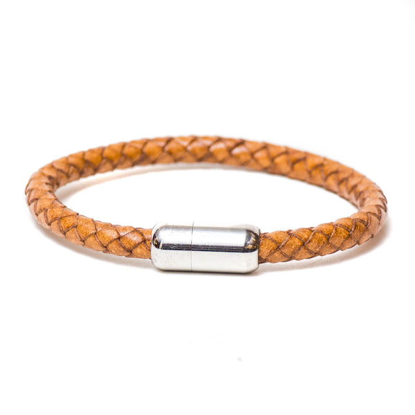 Braided Single Wrap Bracelet (Natural)