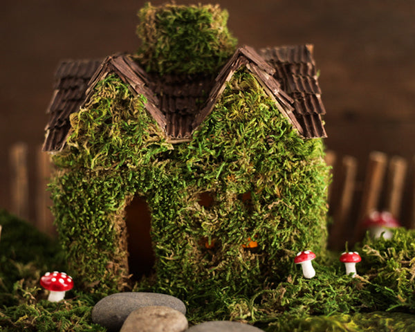 Mossy Fairy House DIY Tutorial