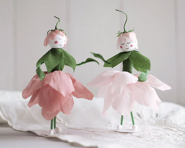Make a Crepe Paper Flower Fairy - DIY Craft Tutorial
