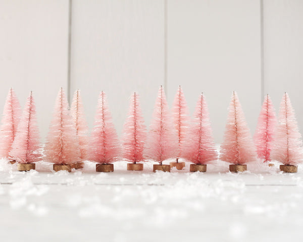 How to Dye Bottle Brush Trees with Rit - DIY Craft Tutorial