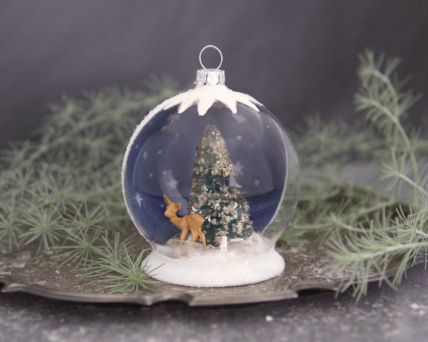 Tutorial: Christmas Snow Globe Ornament
