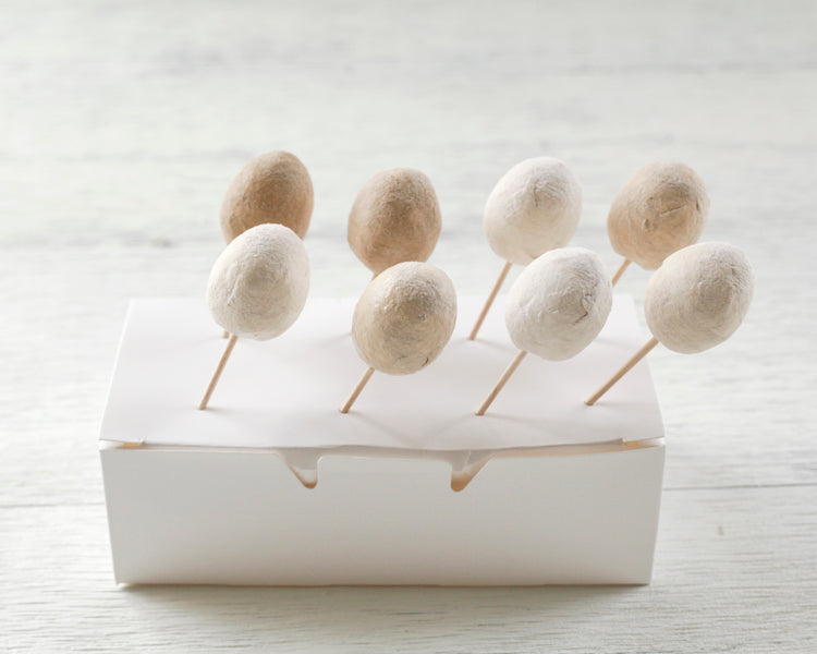 Spun Cotton Quail Egg Tutorial - Smile Mercantile