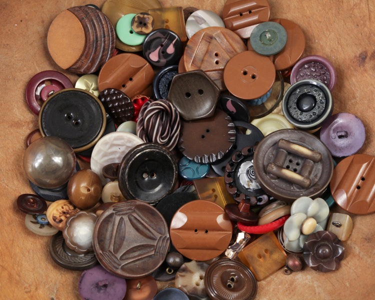 Get a Hobby: the Meditative Quality of Button Collecting