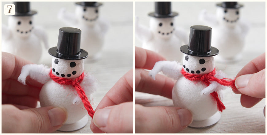Tutorial: Cute Snowman Decorations