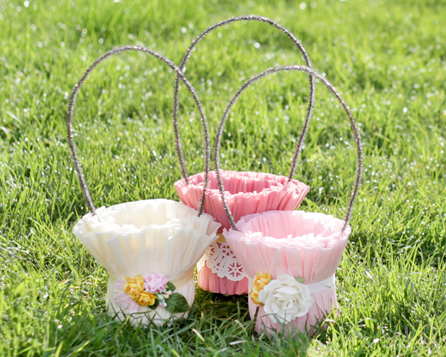 Tutorial: Crepe Paper Easter Baskets – Smile Mercantile ...
