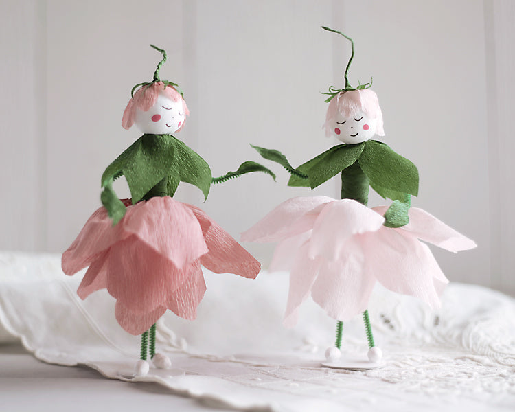Make a crepe paper flower fairy diy craft tutorial smile make a crepe paper flower fairy diy craft tutorial smile mercantile craft co mightylinksfo