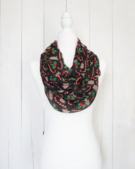 Gingerbread Sweets - Infinity Christmas Scarf