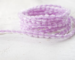 Caterpillar Bump Chenille - Lavender Crushed Velvet Wired Trim, 3 Yds.