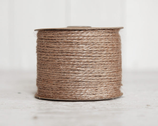 Natural Jute Twine - 100 Yard Spool