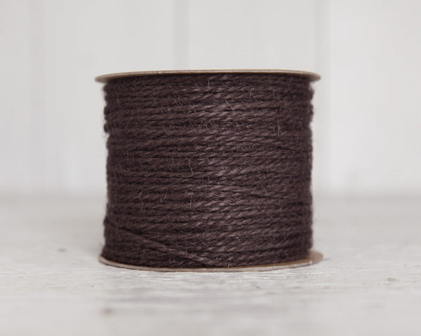Brown Twine - 2 Ply Jute, 100 Yard Spool