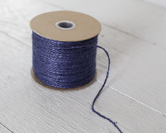Blue Twine - 2 Ply Jute, 100 Yard Spool