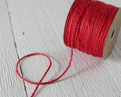 red jute twine