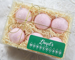 pink ornament set