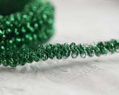 green tinsel