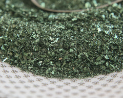green glass glitter
