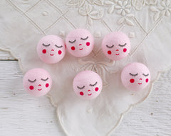pink angel heads