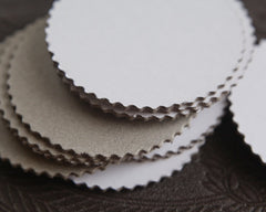 chipboard circles