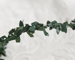 greenery ribbon