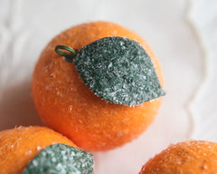 orange fruit ornament