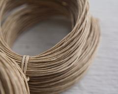 Paper Cord - Natural, One Dozen 15-Yard Lengths