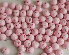 B-Grade Spun Cotton Piggie Faces - Factory Flaw 50 Pcs.