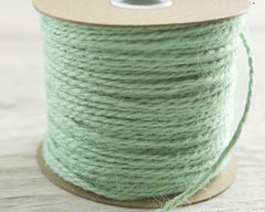Mint Twine - 2 Ply Jute, 100 Yard Spool