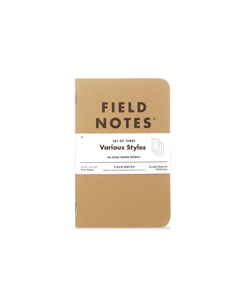 Field Notes Original Kraft Memo Book