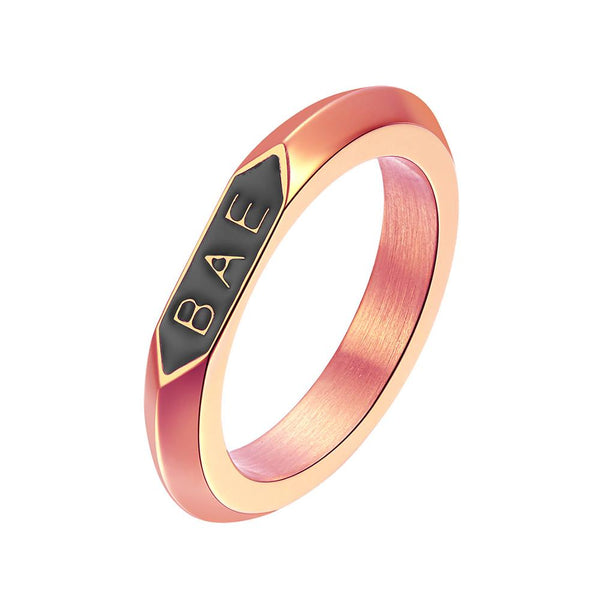 Mister BAE Ring - Rose Gold