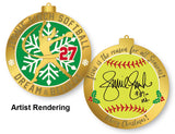 Jennie Finch Christmas Ornament