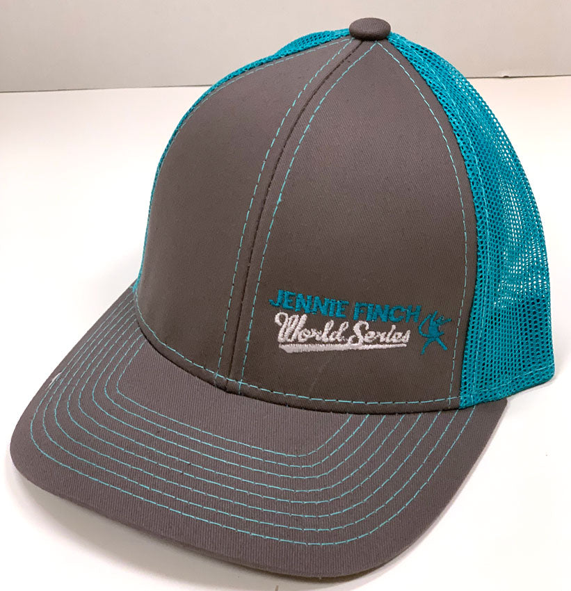 JF World Series Gray & Teal Hat