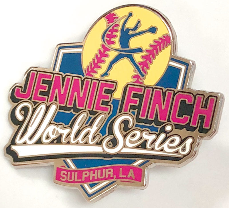 Jennie Finch World Series Trading Pin